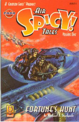 Spicy Air Tales Volume 1 - Fortune's Hunt - Frontcover